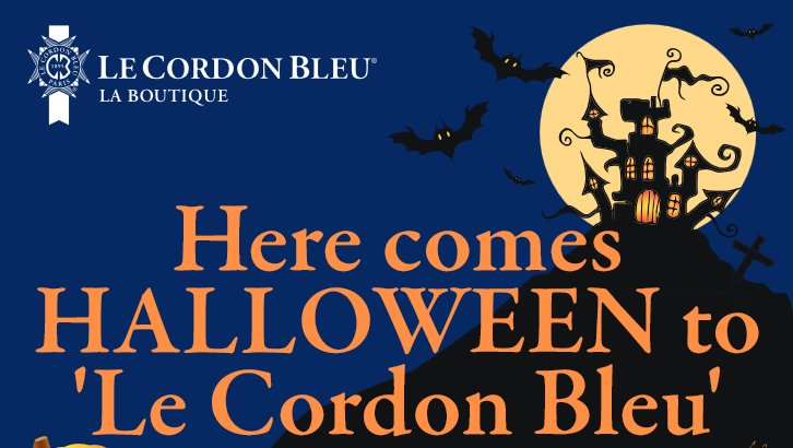 Here comes HALLOWEEN to 'Le Cordon Bleu'