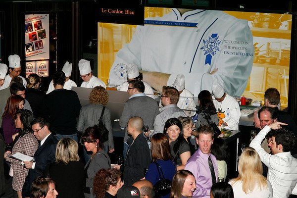 Culinary Experience Crowded Booth Lineup