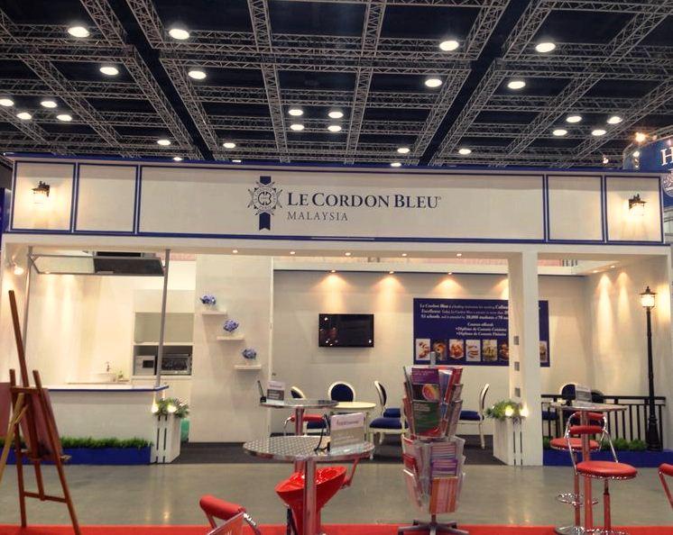 Le Cordon Bleu Malaysia's Booth March 2014