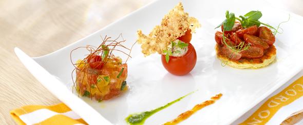 Tomato trio recipe