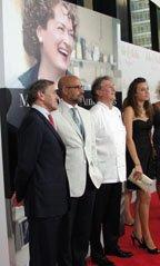 Julie & Julia NY Premiere Stanley Tucci & Le Cordon Bleu