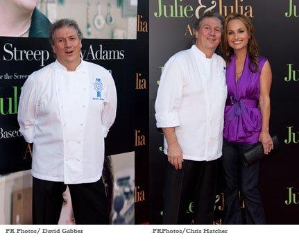 PatrickMartin Giada de Laurentiis Julie & Julia Premiere PR Photos
