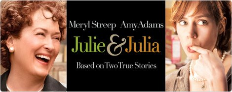 Julie & Julia Movie Header Footer