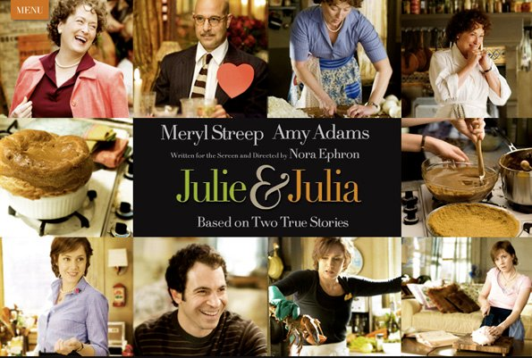 Julie&Julia Japan Landing Page Top