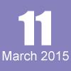 11 mars 2015