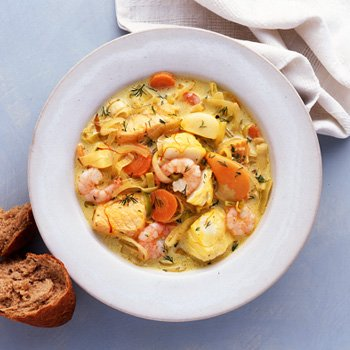 Le Cordon Bleu Fish Soup
