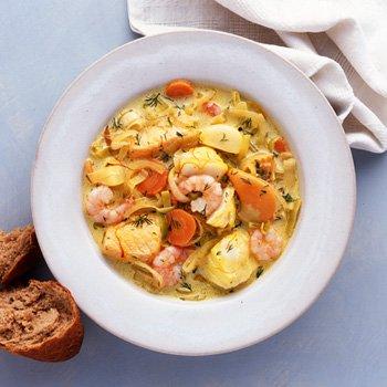 Le Cordon Bleu Fish Soup