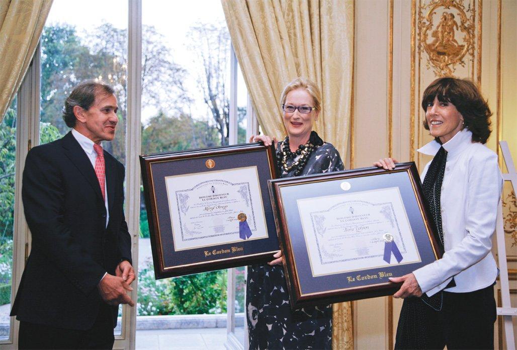 André Cointreau, Meryl Streep et Norah Ephron