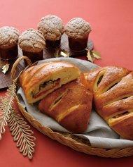 パネトーネ風ブリオッシュ/クリスマスのフガス