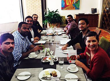 Lunch at Le Cordon Bleu Sydney with Monish Gujral