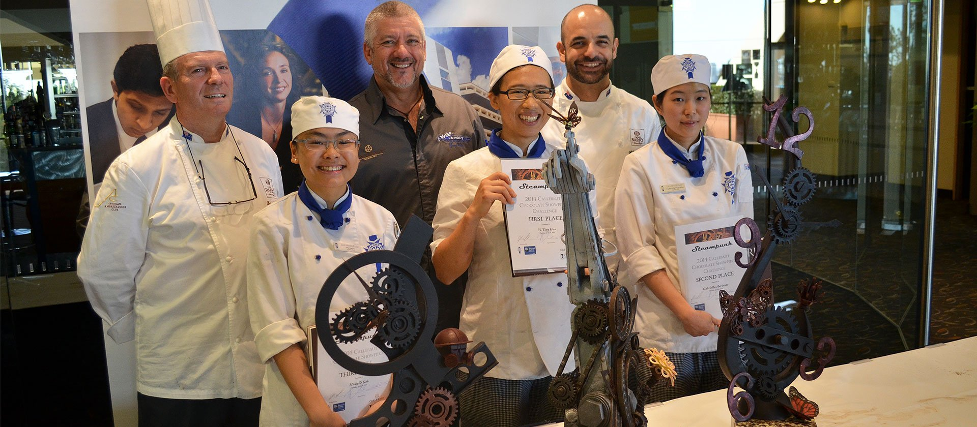 Showpiece hat trick for Le Cordon Bleu Sydney