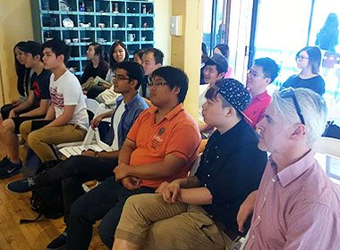 Industry workshop for International Restaurant Management students