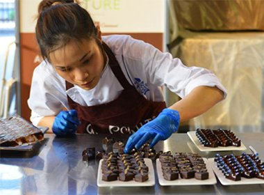 Alumna competes in World Chocolate Masters