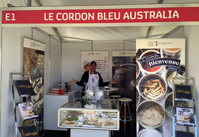 LCB Australia stand at Taste of Melbourne