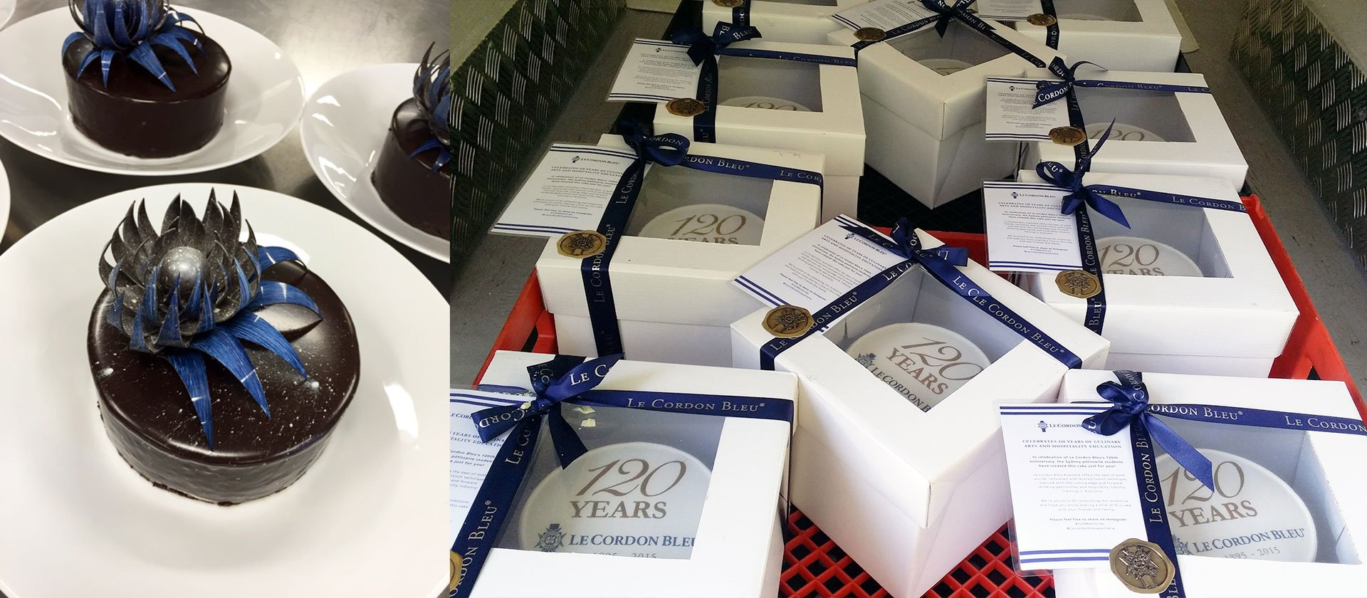 Sydney & Melbourne 120 Year Anniversary Commemorative Cakes