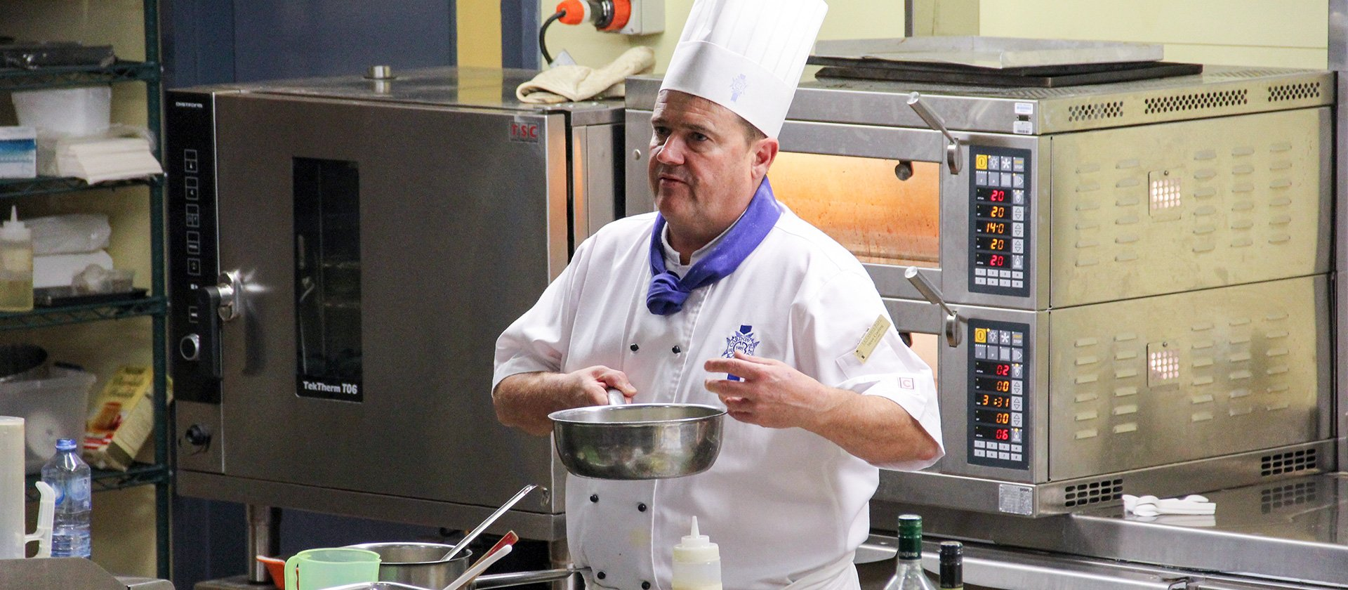 Le Cordon Bleu Adelaide Chef at Cooking For Chemo