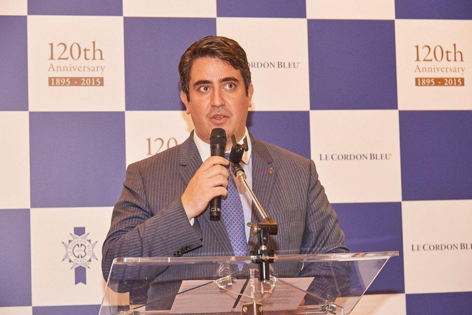 シャルル・コアントロ ル・コルドン・ブルー・アジア代表