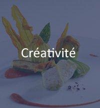 créativité chef de cuisine
