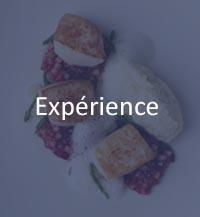 expérience chef de cuisine