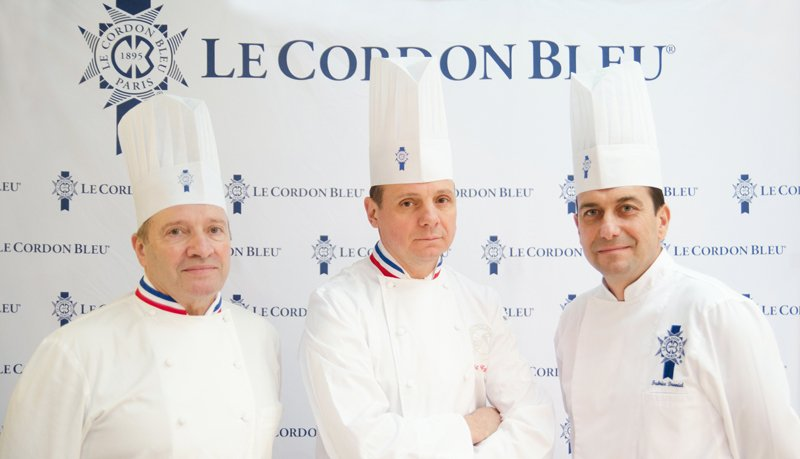 New head Chefs at Le Cordon Bleu Paris - Chefs Briffard, Groult and Danniel
