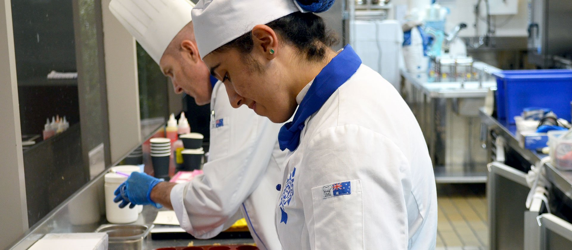 Le Cordon Bleu Sydney Superior Patisserie student, Mary George, recently was the winner of the Regional round of the WorldSkills Australia Competition.