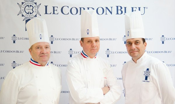 Chef Briffard, Chef Groult & Chef Danniel