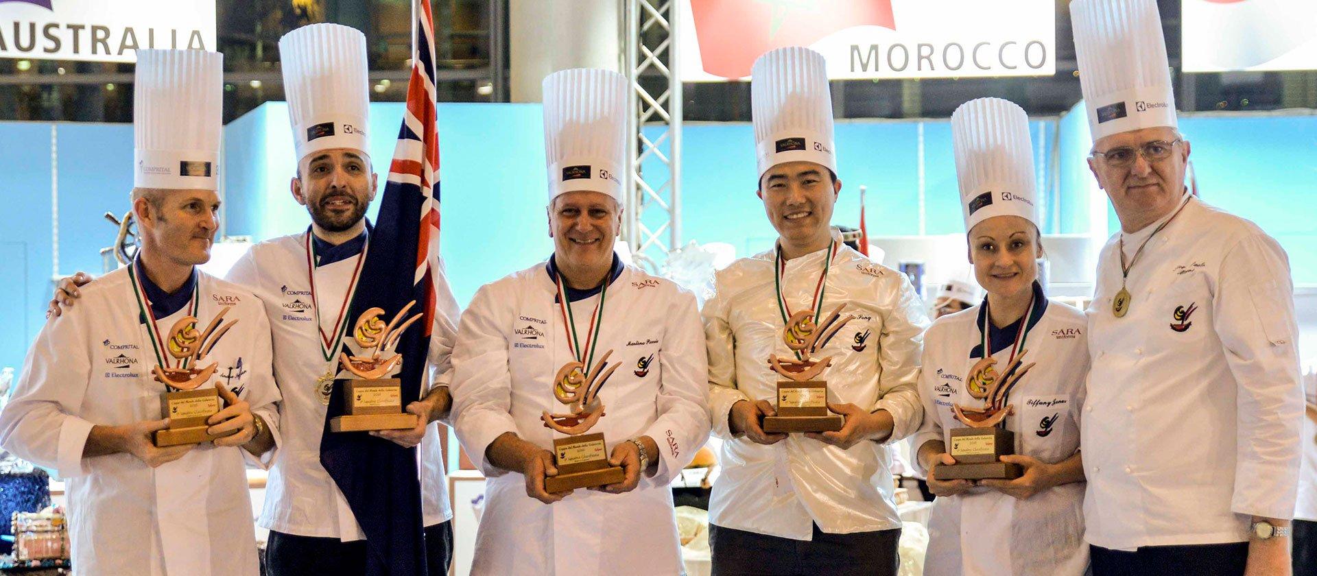 Le Cordon Bleu Sydney Chef Andre Sandison wins Gelato World Cup 2016