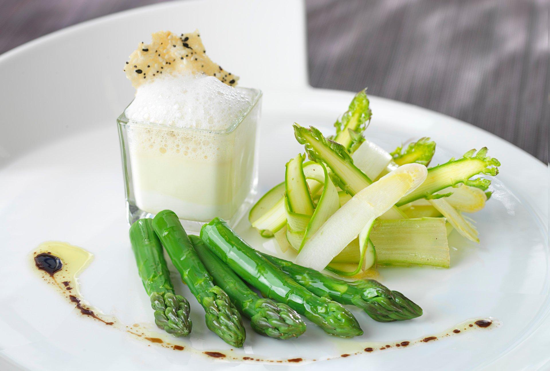 asparagus trio