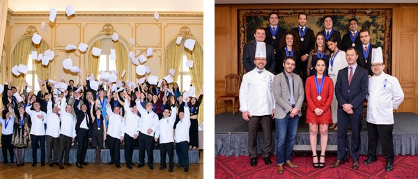 graduation ceremony Le Cordon Bleu Paris