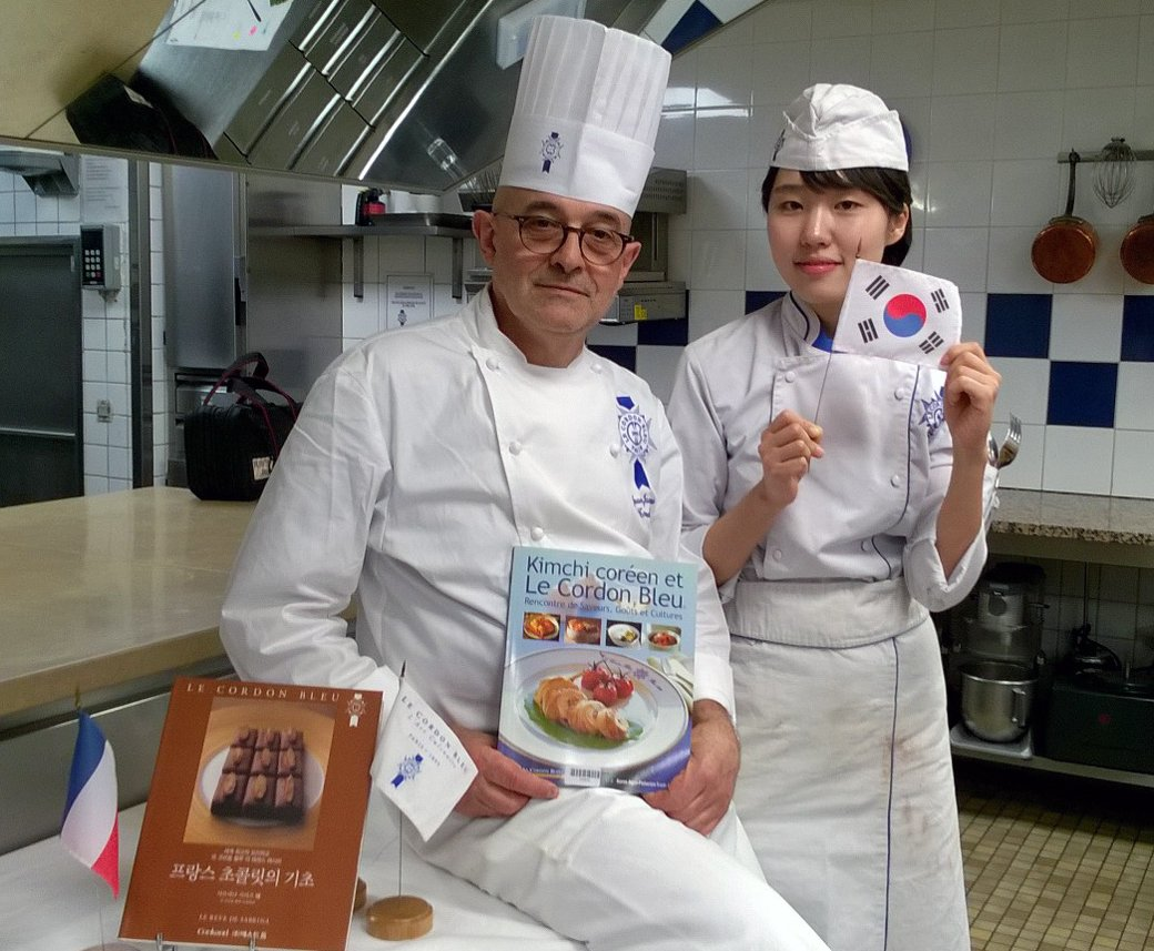 Le Cordon Bleu and the Libraries of Paris celebrate the Year of Korea in France