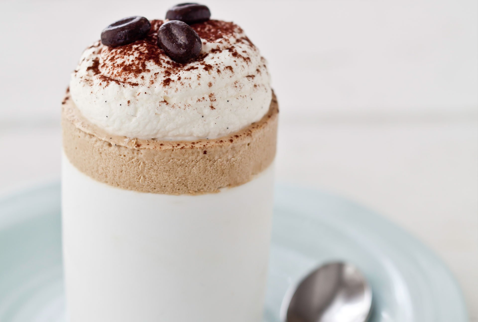 iced coffee soufflé recipe