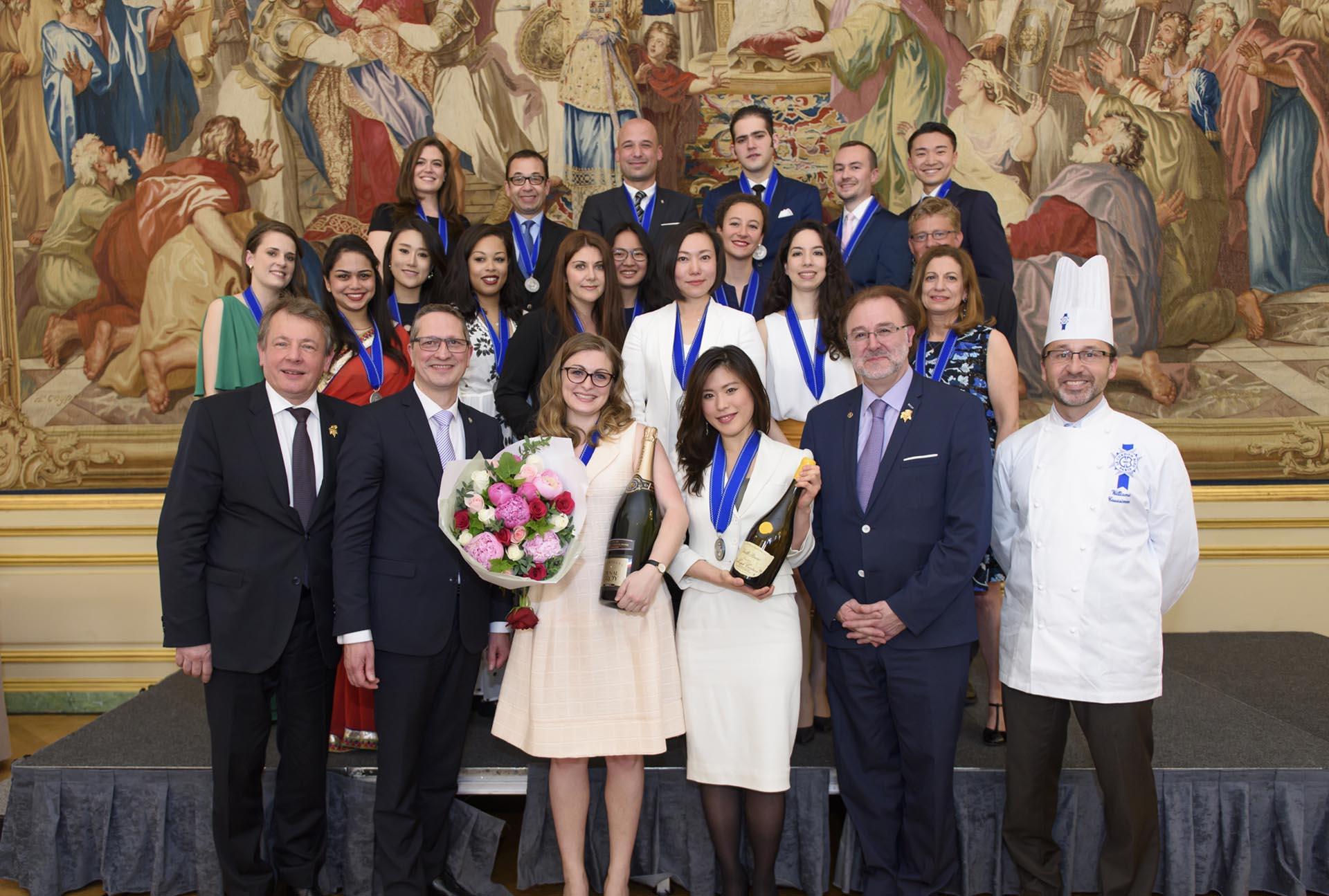cérémonie remise des diplômes vin et management