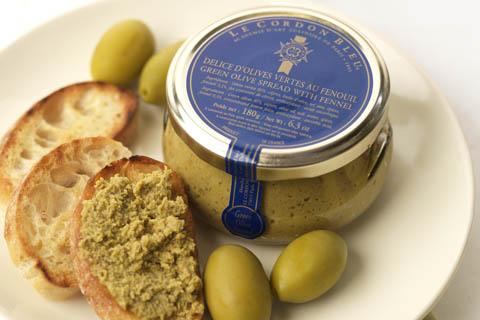 Délice d'olives vertes au fenouil