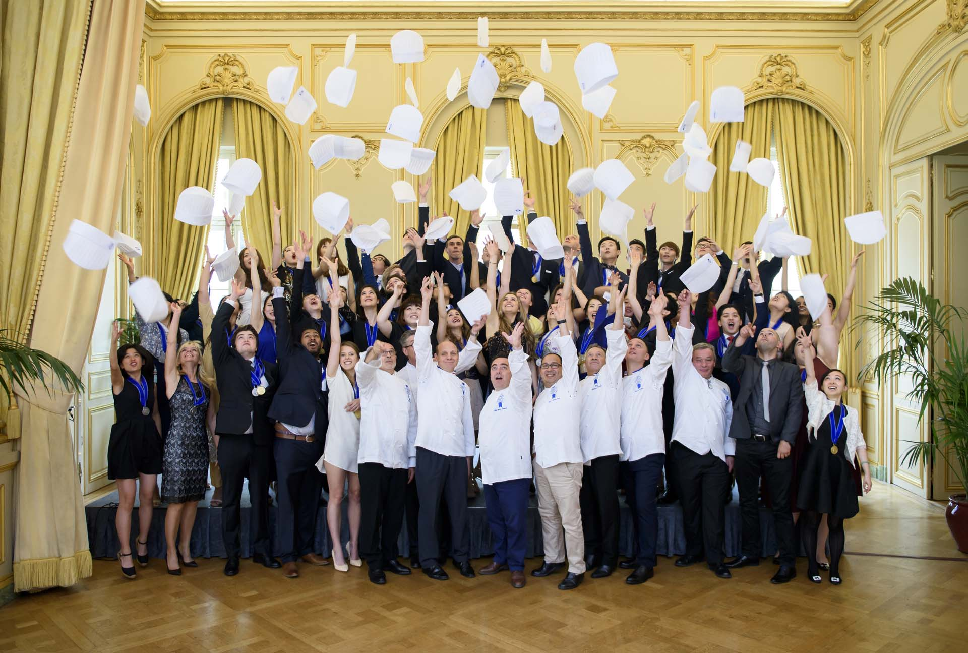 cuisine and grand diplome graduation