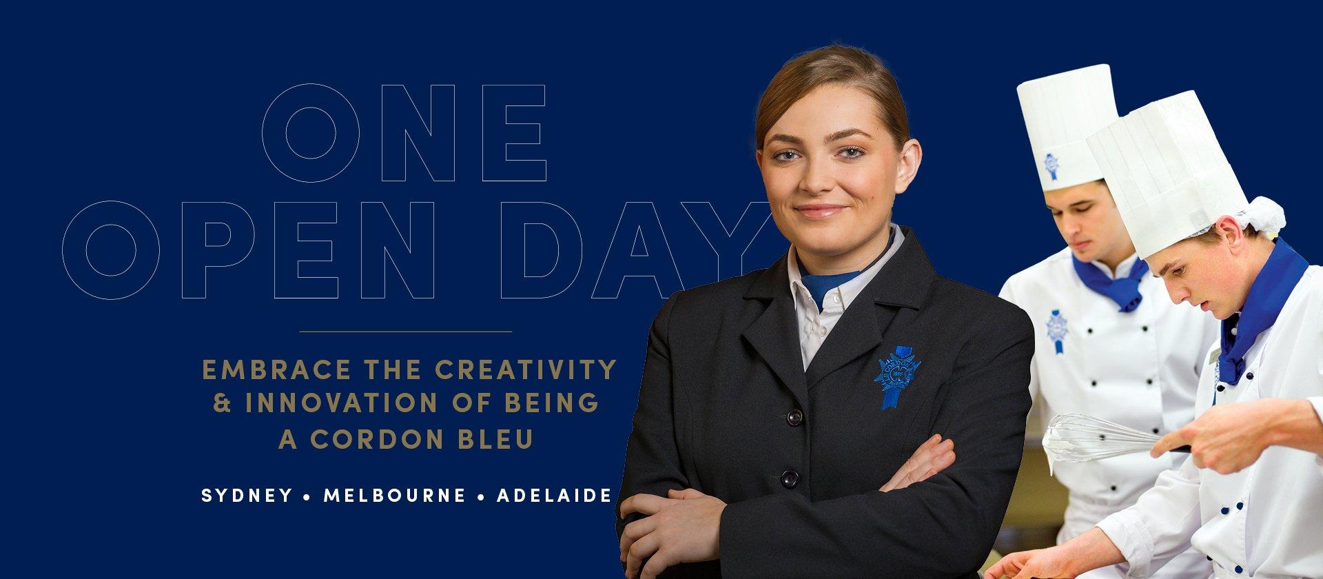 Le Cordon Bleu Open Days 2016 Adelaide Sydney Melbourne