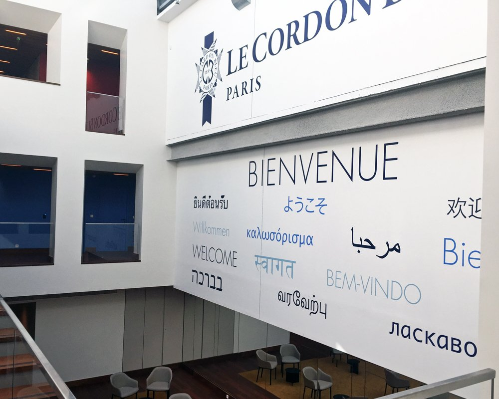 Welcome Le Cordon Bleu Paris