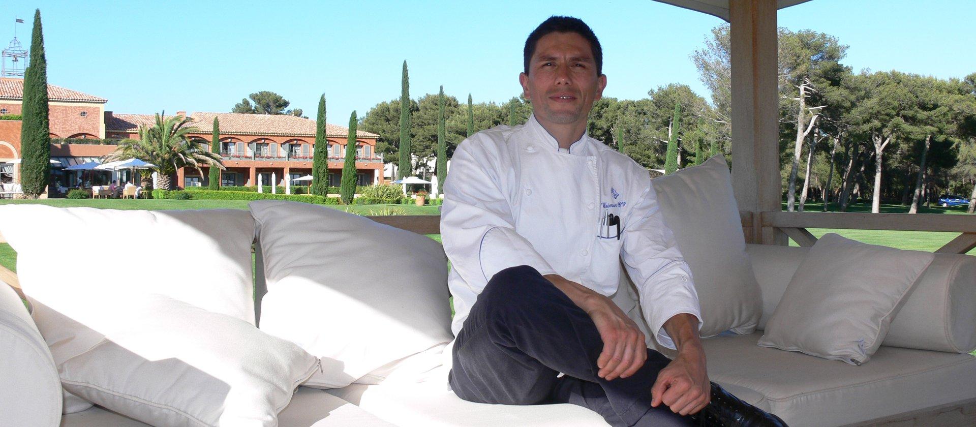 Chef Weimar Gomez