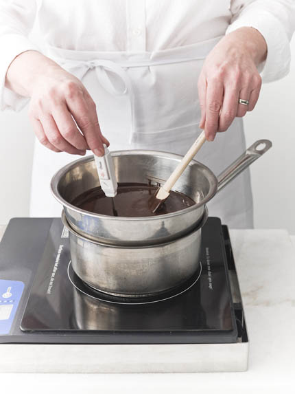 pastry technique tempering chocolate