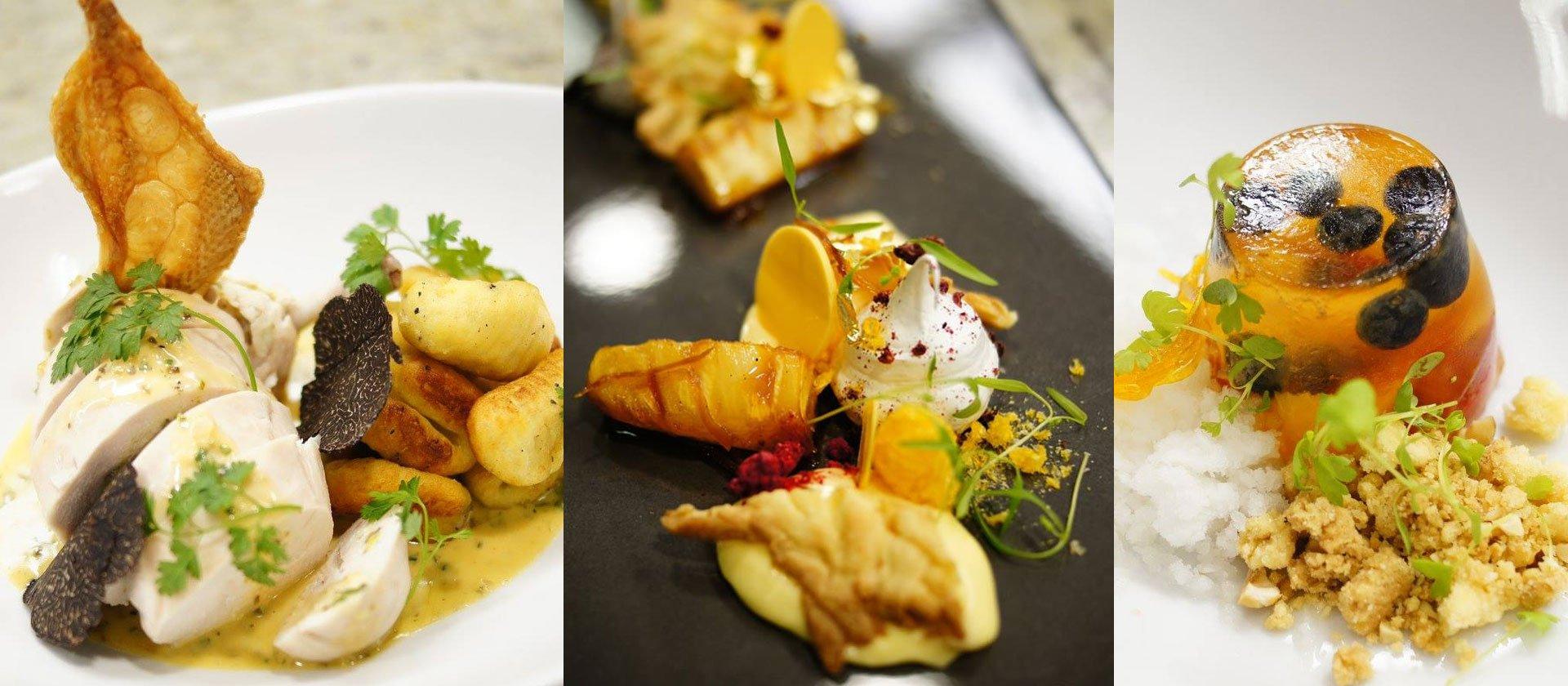 Le Cordon Bleu restaurant service and high tea