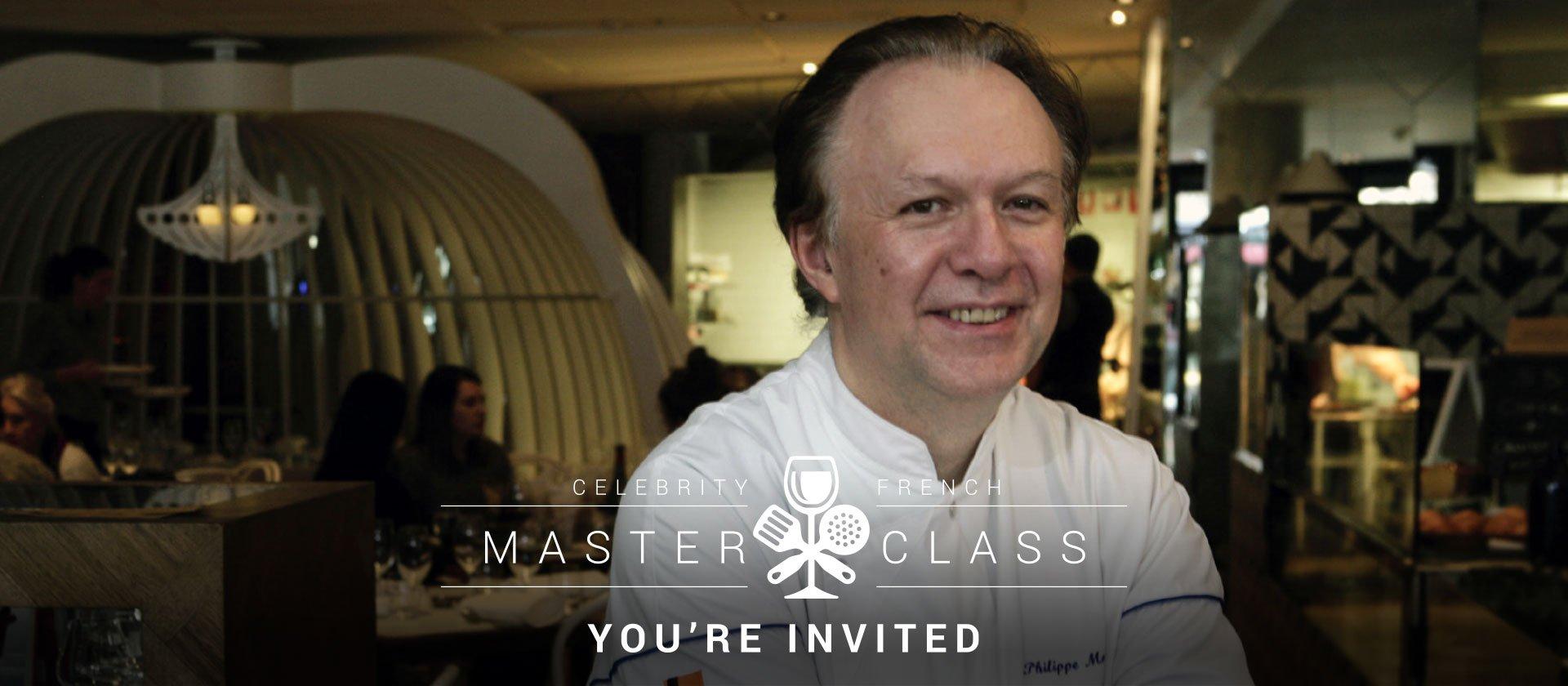 Le Cordon Bleu Melbourne Chef Philippe Mouchel French cuisine Masterclass