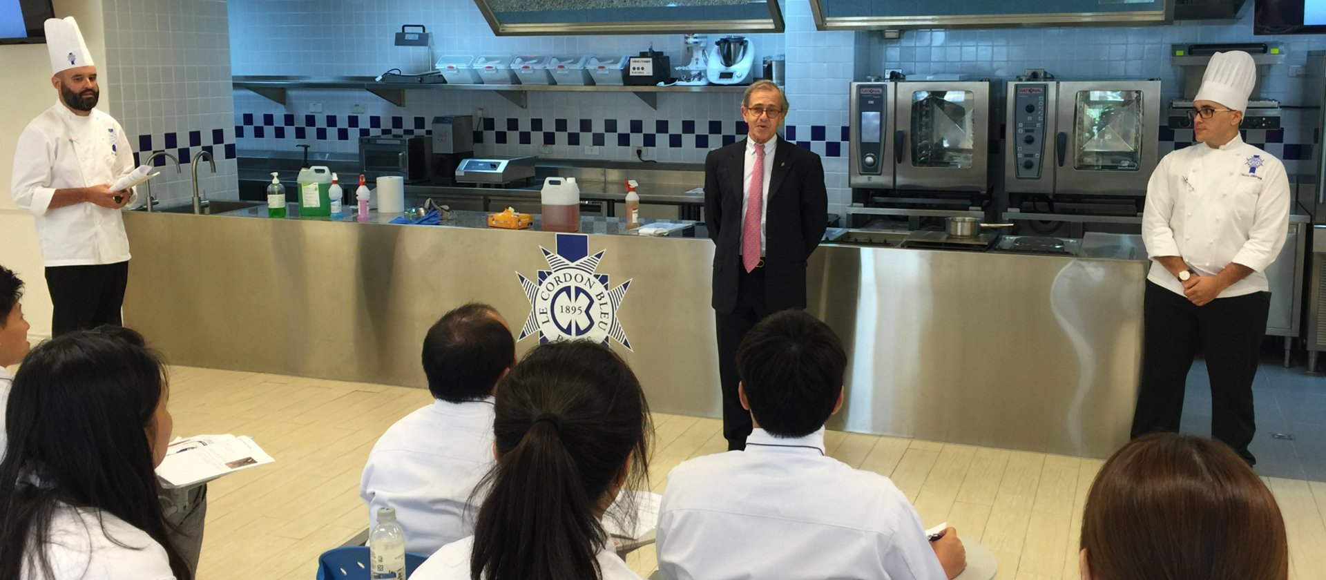 First intake at Le Cordon Bleu Culinary Institute in Taiwan