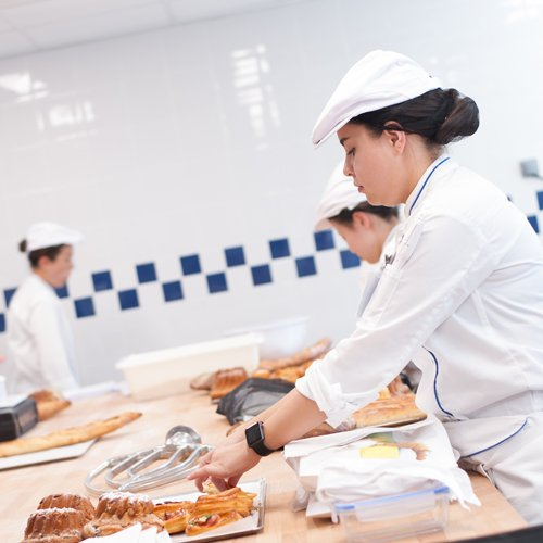 Le Cordon Bleu Paris practical room