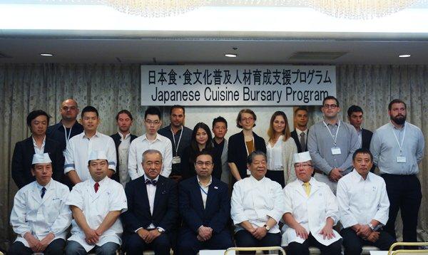 日本食の人材育成プログラムに協力!