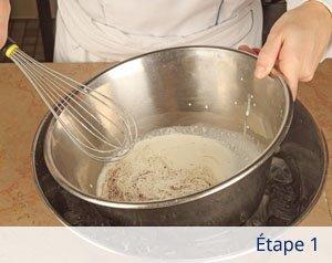 préparer crème chantilly