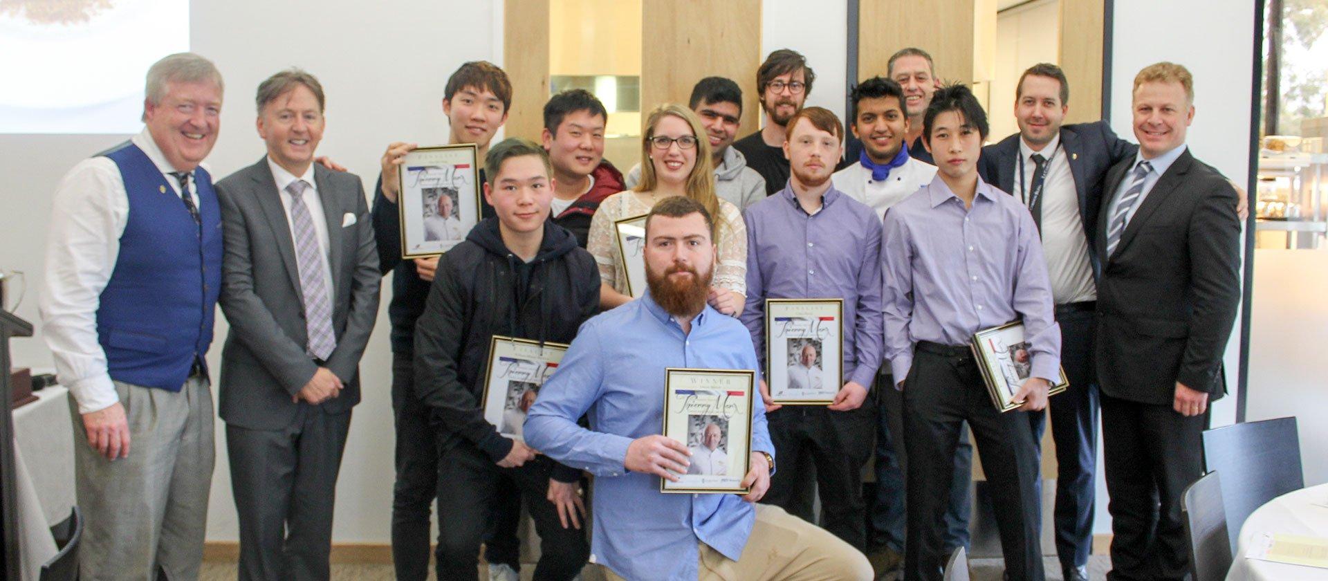 Thierry Marx Career Development Award finalists at Le Cordon Bleu Melbourne