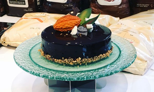 Le Cordon Bleu's Ganesh Iyer is the runner up for the Best Chocolate Dessert