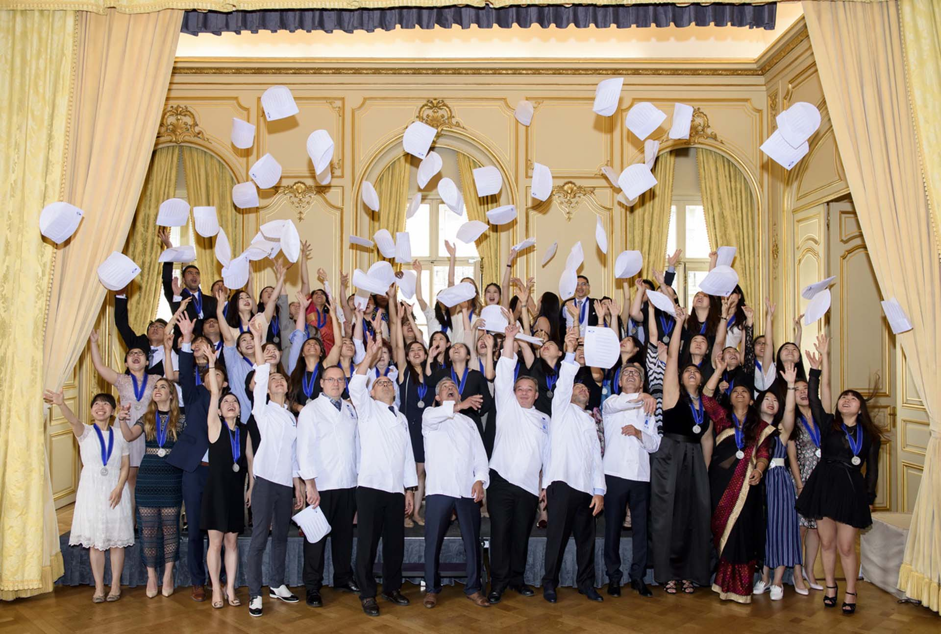 culinary arts graduation Le Cordon Bleu Paris