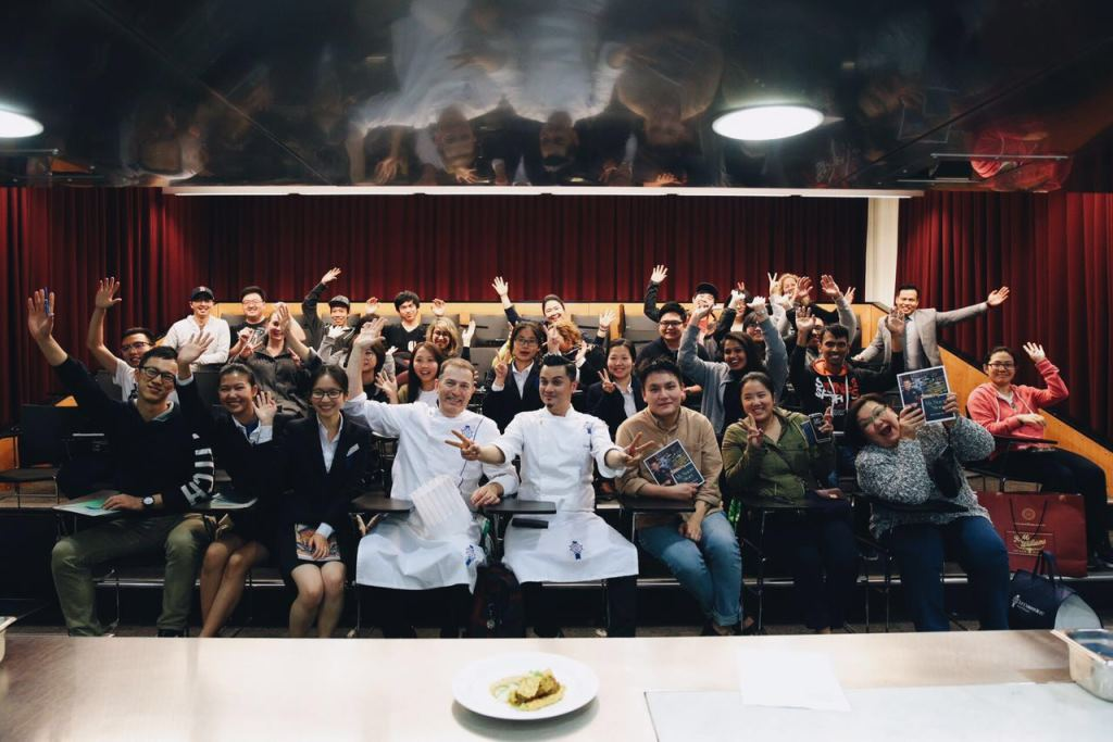 Celebrity Malaysia Alumni Dato' Fazley Yaakob conducted a cooking demonstration at Le Cordon Bleu Sydney.