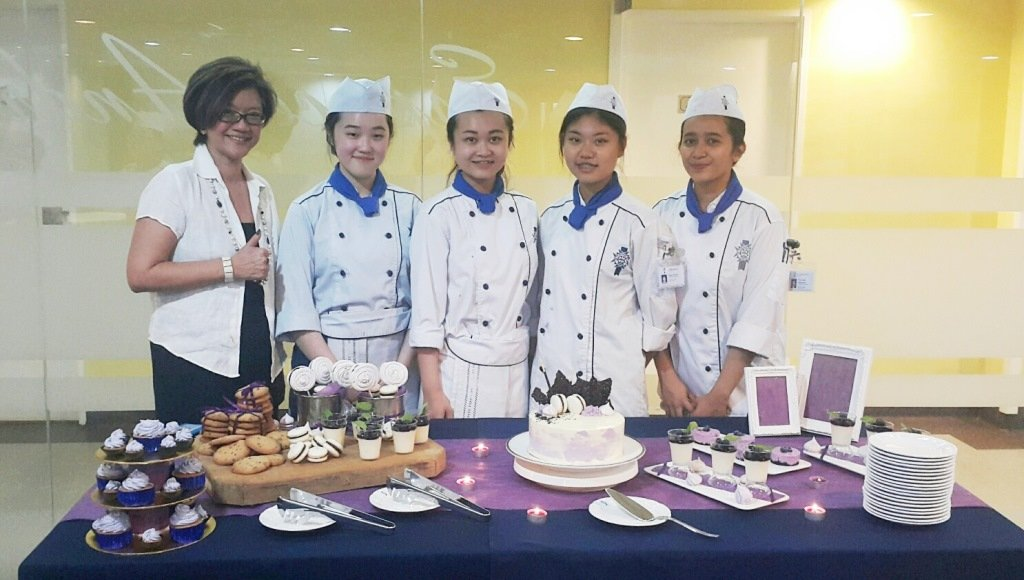 Student and the General Manager of Le Cordon Bleu Malaysia