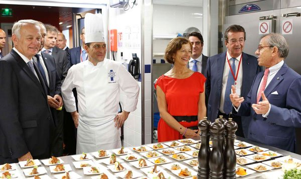 French Minister of Foreign Affairs prioritizes education in Gastronomy, Hospitality and Tourism